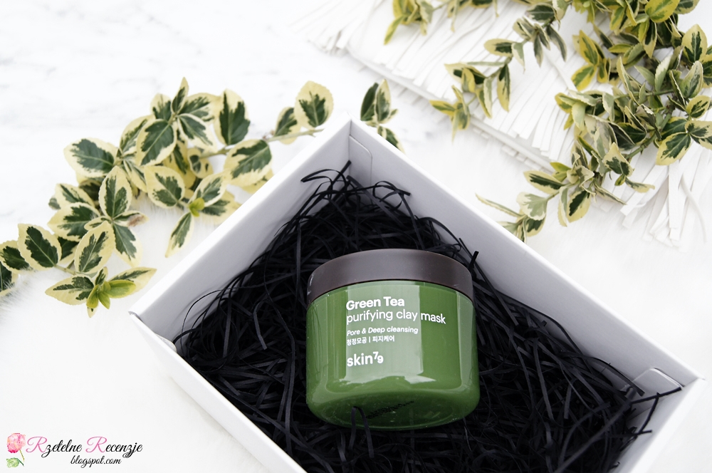 green tea, skin79, purifying clay mask