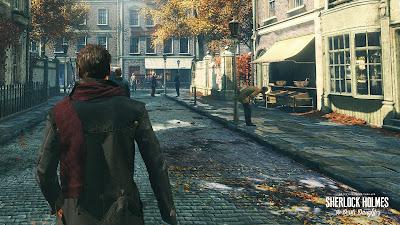 Sherlock Holmes: The Devil's Daughter Game Setup