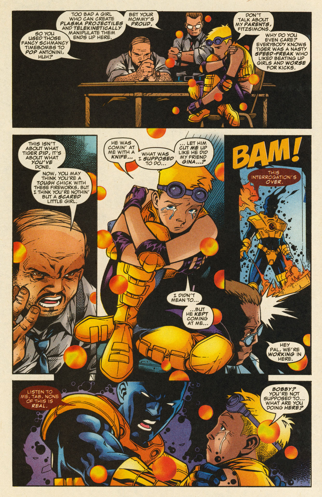 Read online X-Force (1991) comic -  Issue #98 - 15