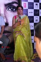 Bollywood Actress Raveena Tandon in Transparent Green Saree at Trailer Launch Of Film Maatr  0022.JPG