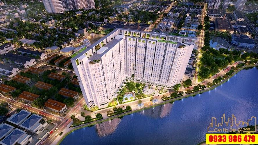 Phối cảnh dự án ven sông Căn hộ Marina Tower