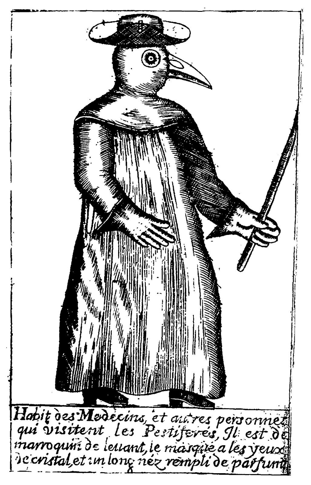 paper lantern: Il Medico Della Peste (The Plague Doctor)