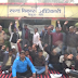 15 ब्लाको के ग्राम विकास अधिकारी कार्य बहिष्कार कर बैठे धरने पर