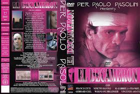 Carátula: El Decámeron (Pier Paolo Pasolini) DVD