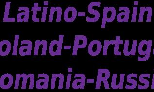 Latino Azteca Spain Portugal Russia Romania VLC List
