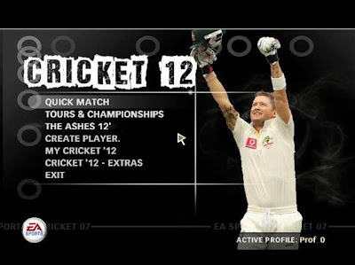 EA Sports Cricket 2012-13 Patch For ea cricket 07
