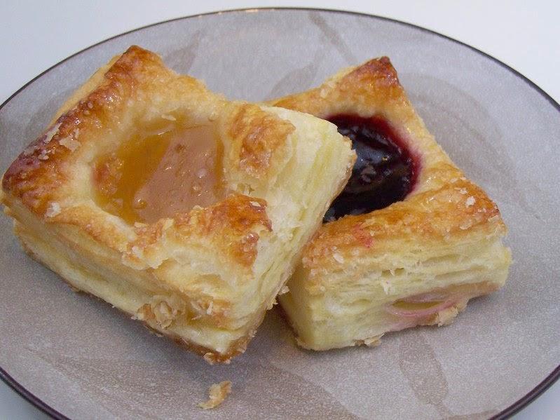 Plunderteilchen Mit Pudding