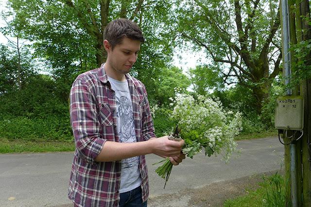 Bouquet champêtre de fleuriste