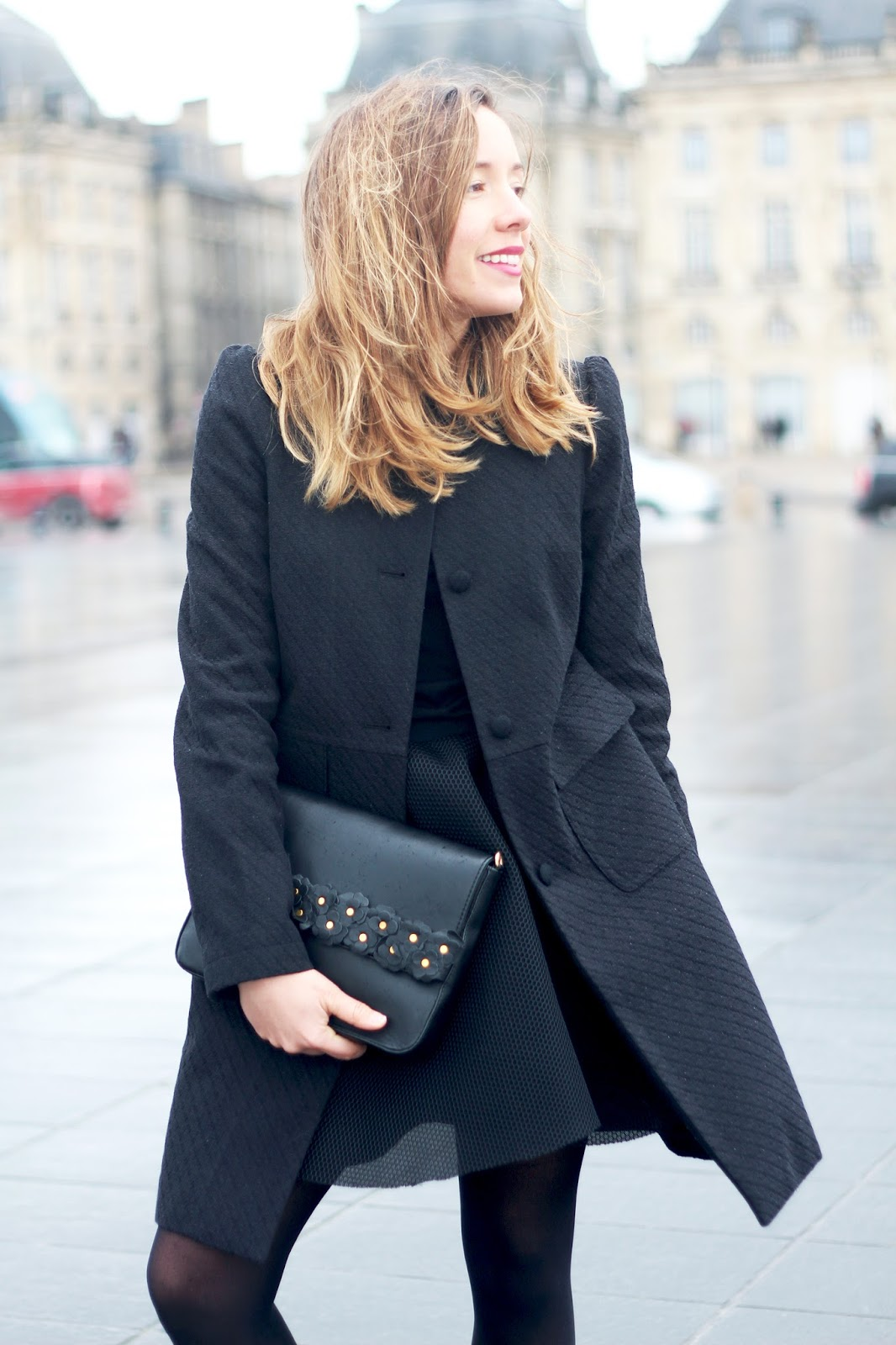 blog mode total look noir