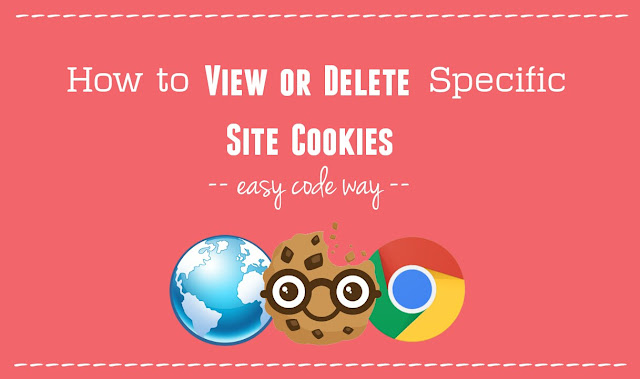 Manage Specific Site Cookies in Chrome