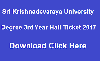 sku ug 3rd year hall tickets 2017 download