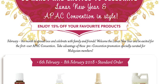 Exclusive Pre-Apac Convention Young Living Malaysia Offer