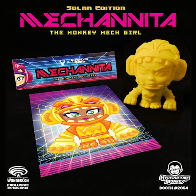 WonderCon 2017 Exclusive Solar Edition Mechannita Vinyl Figure by Hyperactive Monkey