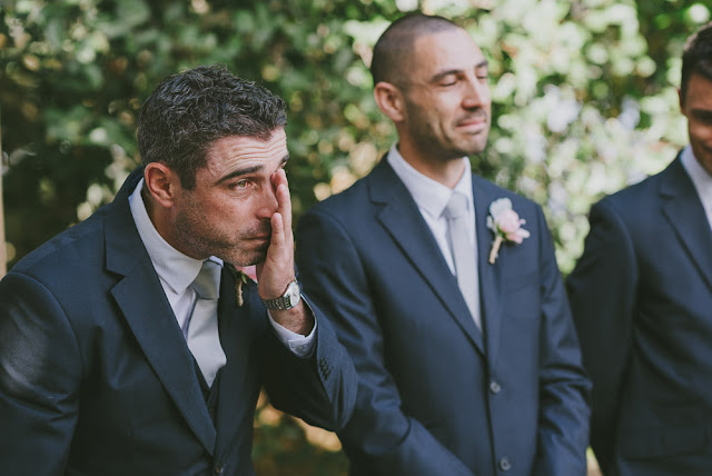 Why do Grooms cry when they see their Brides in wedding gowns?