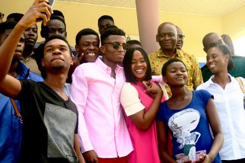 UN Migration Agency Appoints Ghanaian Rapper Kofi Kinaata as Goodwill Ambassador to Promote Safe Migration