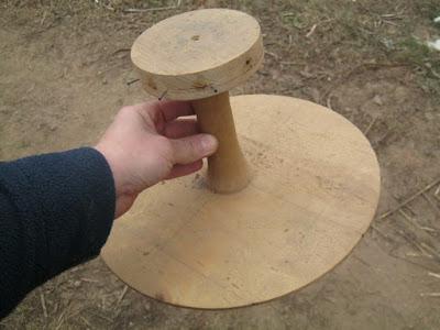 форма для изготовления проволочного каркаса