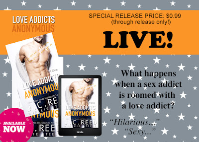 LOVE ADDICTS ANONYMOUS IS LIVE