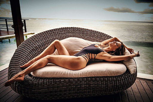 Hot model Alessandra Ambrosio topless photo shoot for GQ Brazil Magazine
