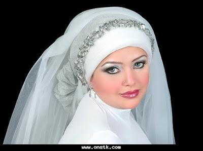 تحديث:طرح زفاف راقية للمحجبات بالصور