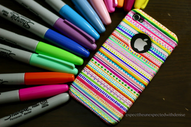 cool designs to draw with sharpie. Sharpie Bag Via Crafty CPA Cool Designs To Draw With Sharpie