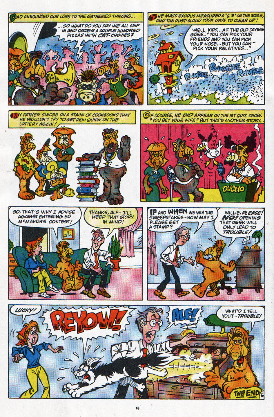 Read online ALF comic -  Issue #6 - 15