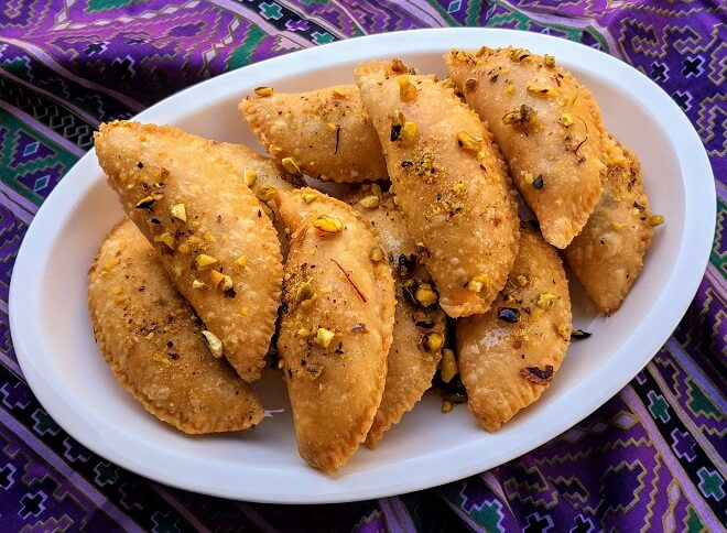 Gujiya, Gujiya Recipe, easy to make Gujiya Recipe, Gujiya Recipe Instructions