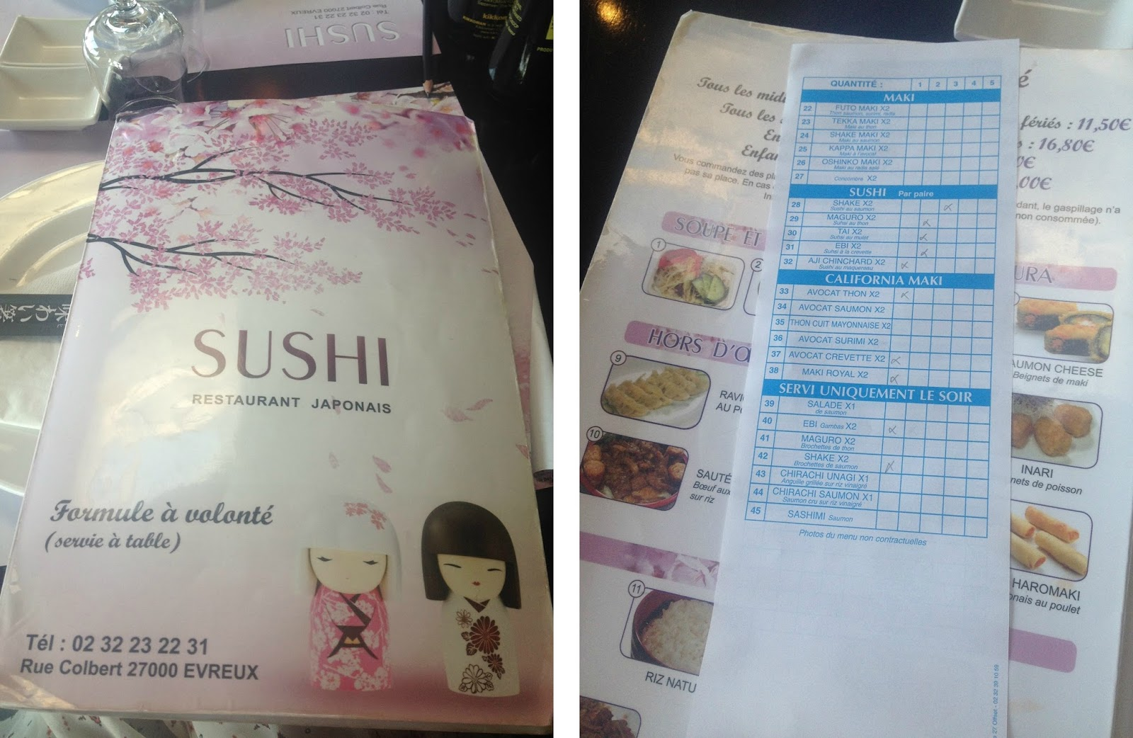 Restaurant Sushi à Evreux