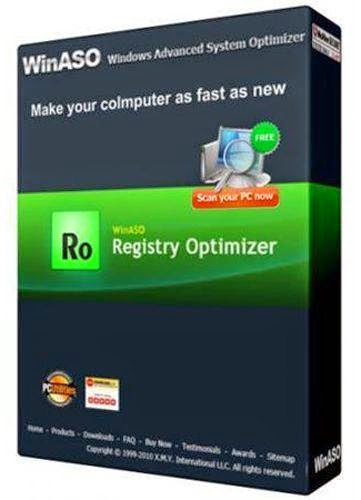 WinASO Registry Optimizer 5.0.0.0 +Free