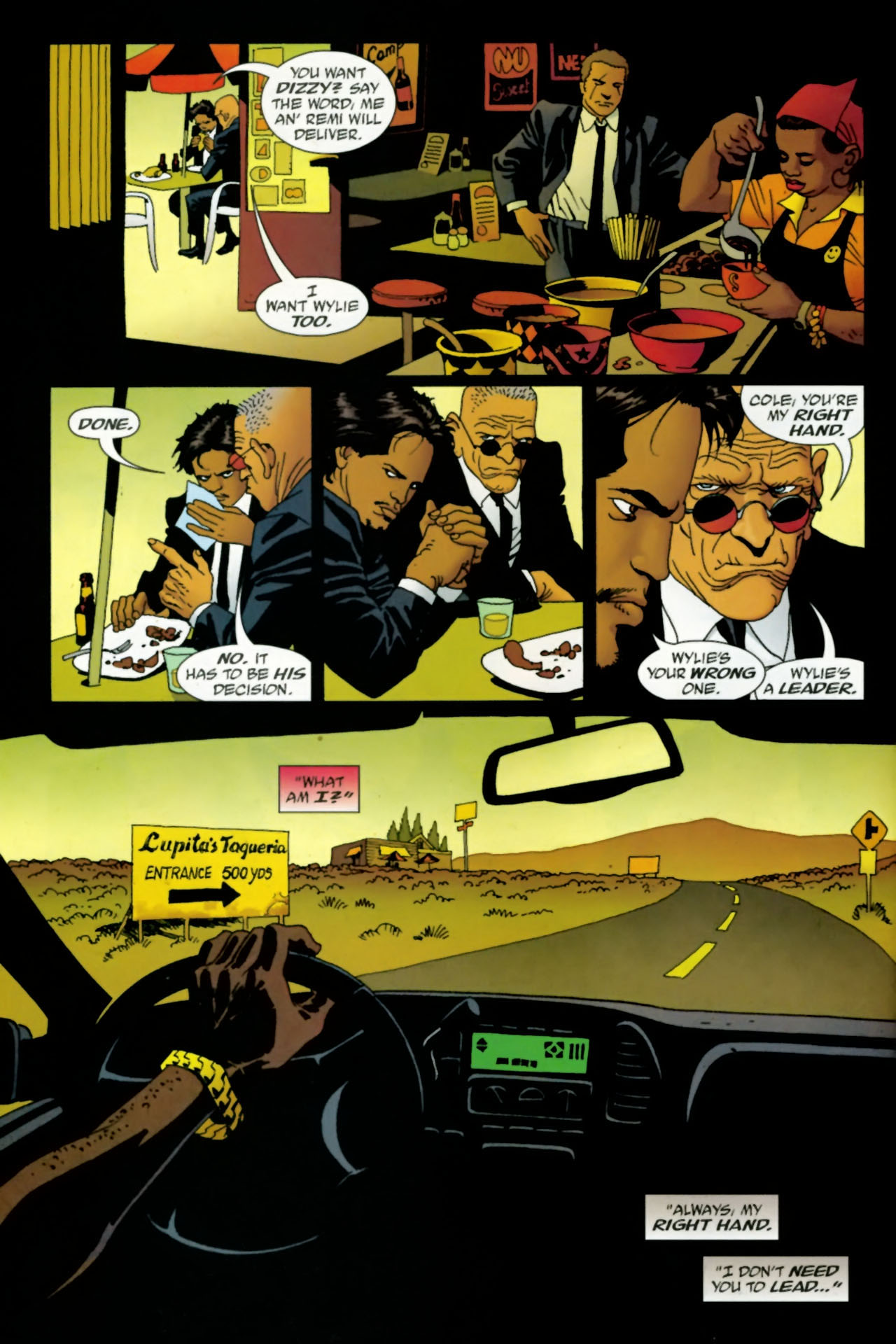 Read online 100 Bullets comic -  Issue #77 - 8