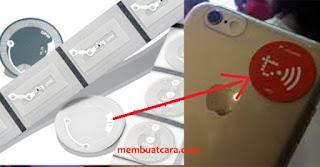 stiker tcash telkomsel dan nfc tag