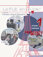 ebooks aprender francés, ebooks A1, ebooks francés A1, francés básico, francés A1, le FLE en un 'clic', FLE