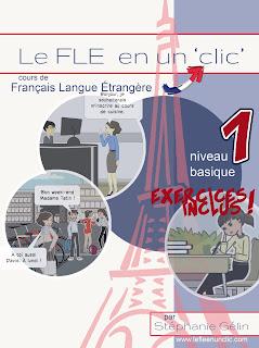 ebook, FLE basique 1, cours de FLE, FLE, le FLE en un 'clic'
