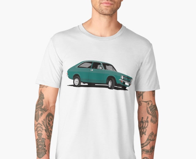 Morris Marina Coupé green - t-shirts