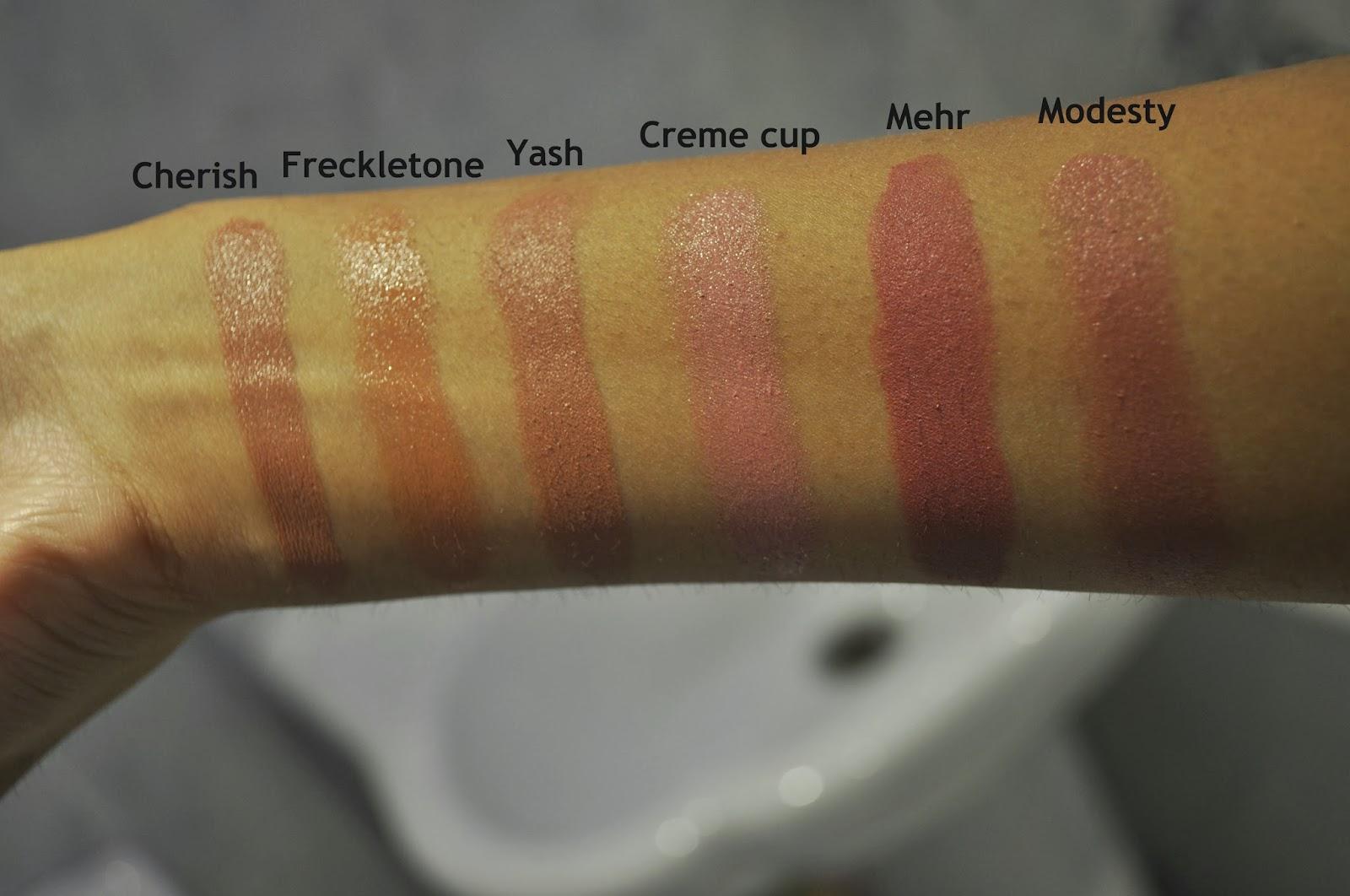 Bekend Bittersweet : MAC Nude/Pale Pink Lipsticks for Tan Skin Tones XH81