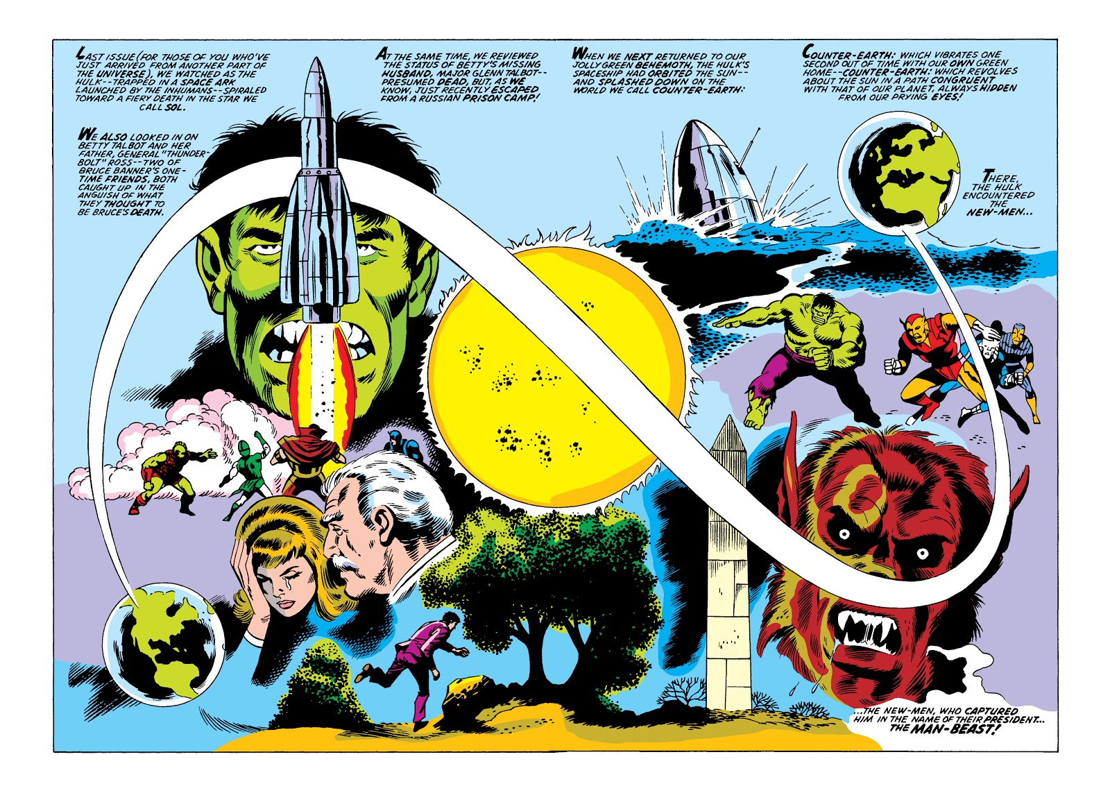 Read online Marvel Masterworks: The Incredible Hulk comic -  Issue # TPB 10 (Part 2) - 29