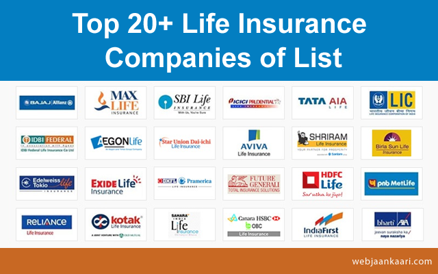 Top_20+ Life_Insurance_Companies_of_List