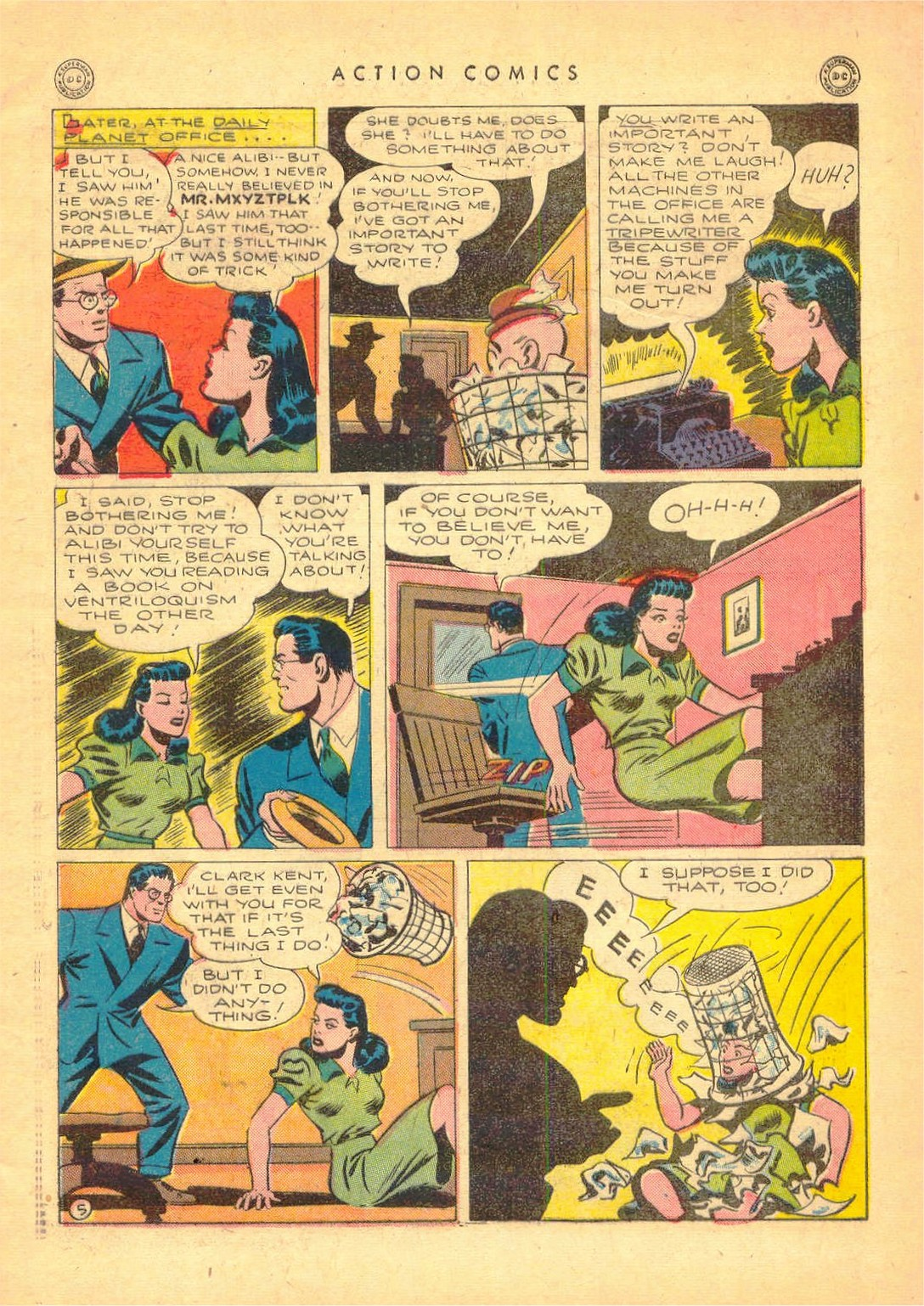 Read online Action Comics (1938) comic -  Issue #80 - 6