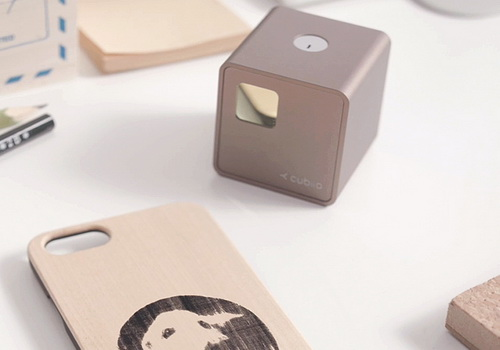 Tinuku Muherz's Cubiio laser-based makes you instant engraver
