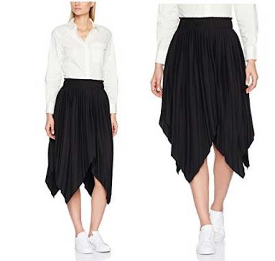 look con falda midi de Jijil