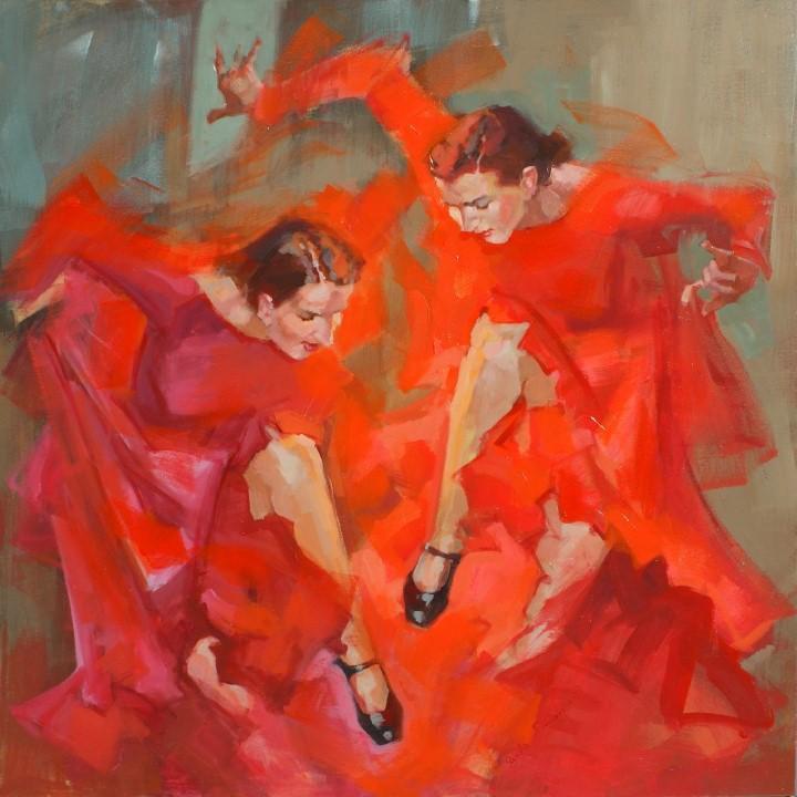 Энергичные картины художницы Renata Domagalska 21