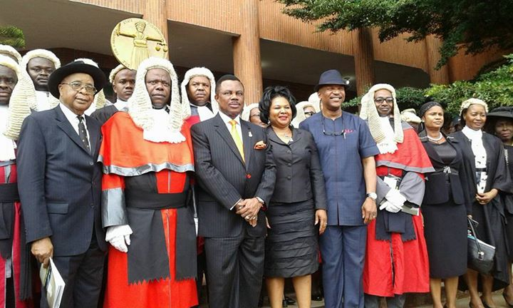 Image result for pictures of Anambra state chief judge