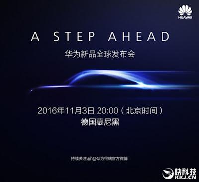 2016 Huawei Mate 9 Release on November 3