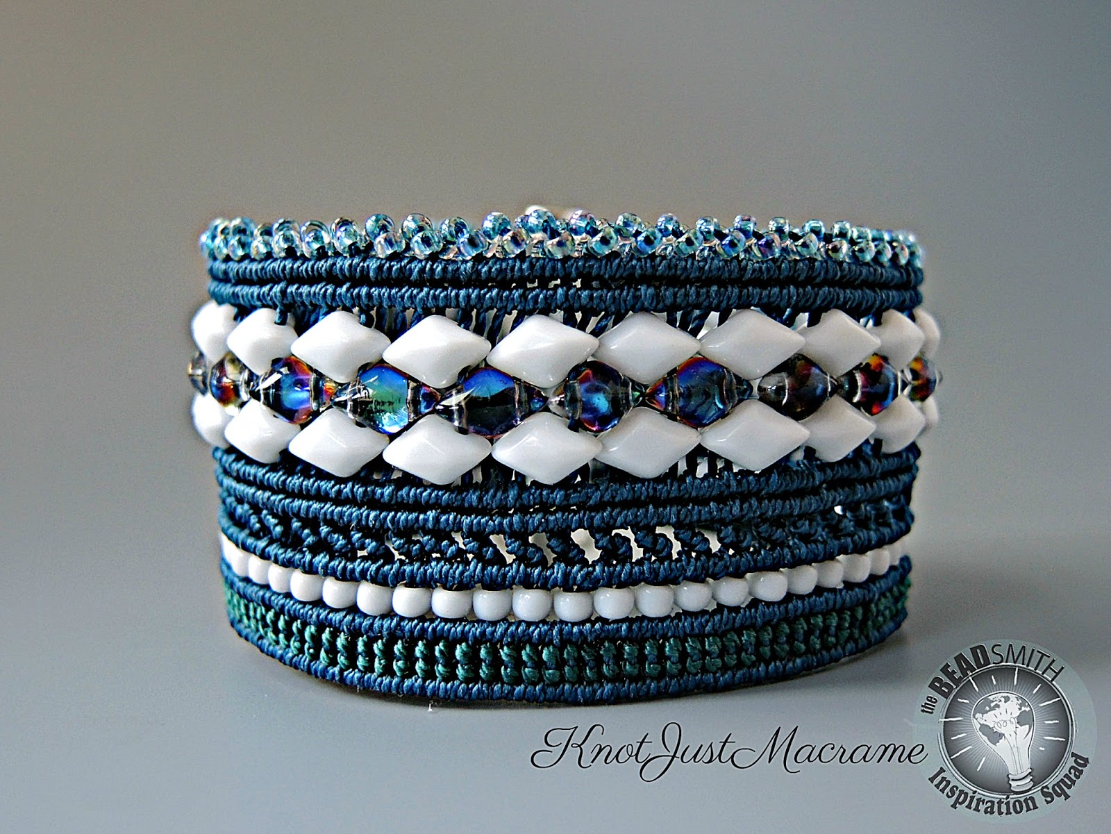 Knot Just Macrame by Sherri Stokey: Winter and Beaded Micro Macrame