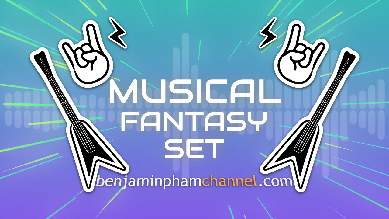 Filmora Musical Fantasy Set | Filmora Effects Store