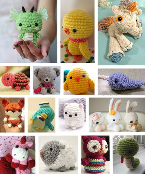Sweet Stuffed Animals to Crochet for Free