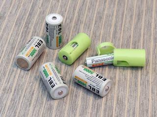 EBL 充電式ニッケル水素電池 単2形 5000mAh