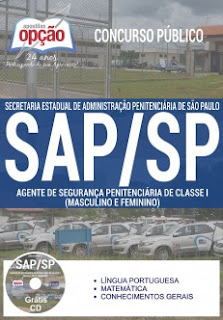 Apostila SAP-SP 2017 em PDF, Impressa / Digital por Download - Grátis vídeo aula.