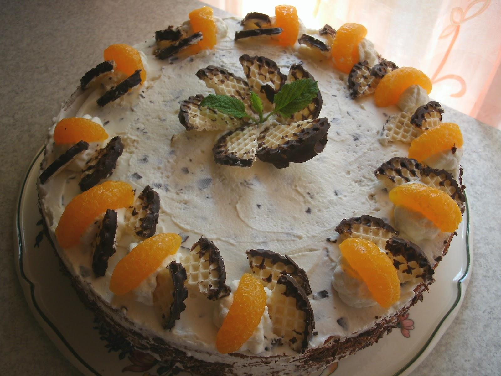 Backe Backe Kuchen Schokokuss Mandarinen Torte
