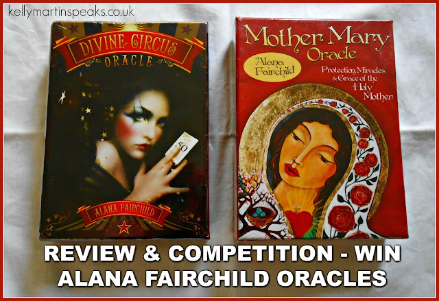 COMPETITION REVIEW Divine Circus and Mother Mary Oracle Cards by Alana Fairchild
