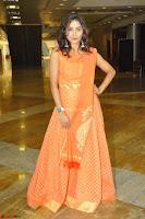 Bhanu Priya in Oreange Ethnic Anarkali Dress 17.JPG